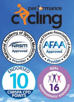 Accredired and endorsed by NASM, AFAA, CIMSPA and REPs
