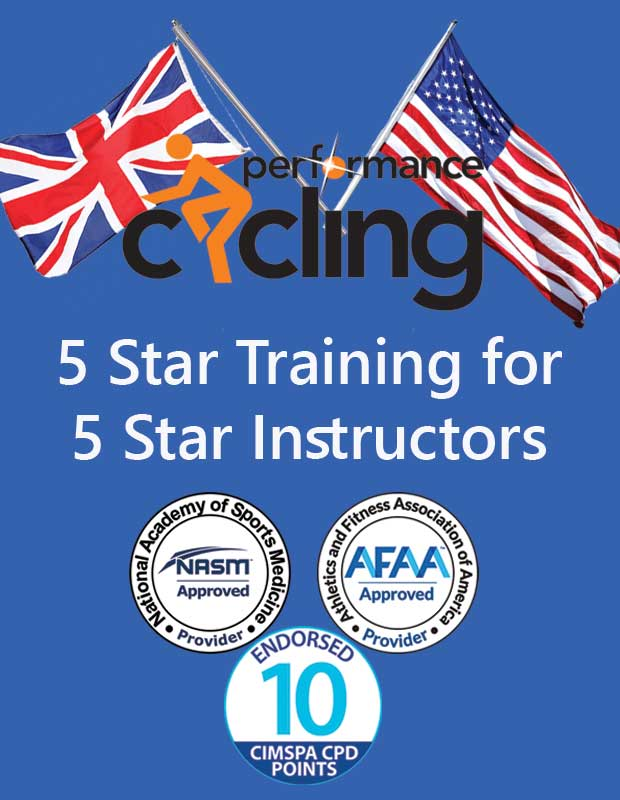 Accredited and endorsed by NASM, AFAA and CIMSPA