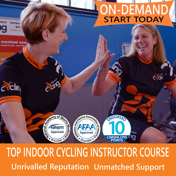 Online Indoor Cycling Instructor Course - Start Today