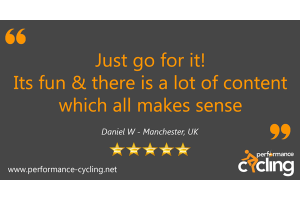 Performance Cycling Instructor Online Course Review - Daniel, Manchester, UK