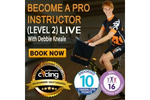Performance Cycling Course - Qualify to teach and change lives for the better!