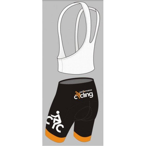 Performance Cycling padded cycling shorts/bibshorts