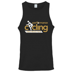 Performance Cycling Instructor Workout Vest - Gold